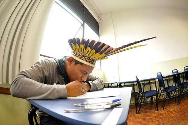 Com prova em MS, faculdade de SP tem 88 vagas para vestibular indígena