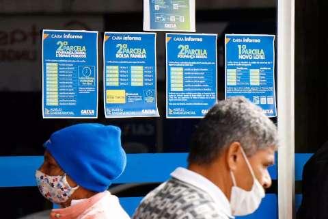 Auxílio emergencial federal injetou R$ 2,9 bilhões na economia de MS