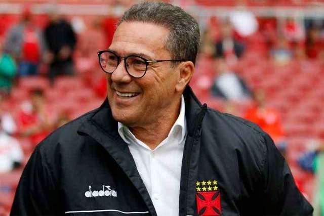 Vasco anuncia contratação de Vanderlei Luxemburgo como novo técnico