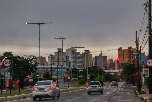 Quarta-feira será chuvosa em todo MS, prevê meteorologia