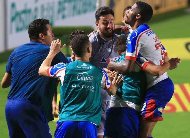 Ameaçado no Brasileirão, Bahia arranca empate com o Atlético-GO fora de casa