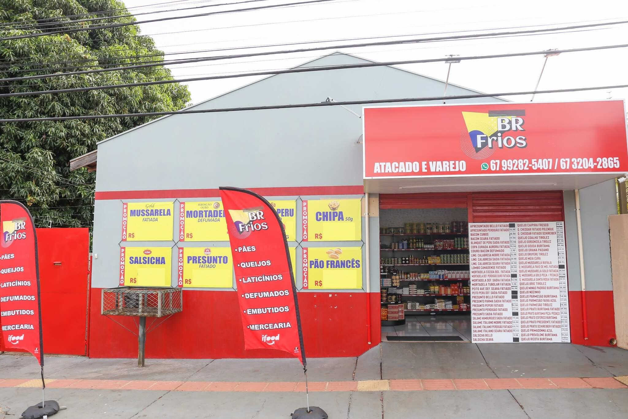 BR Frios fica localizada na rua Santa Helena, 335, bairro Vila Jacy (Foto: Paulo Francis)