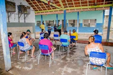 Prefeitura prepara ginásio para abrigar famílias atingidas pela chuva