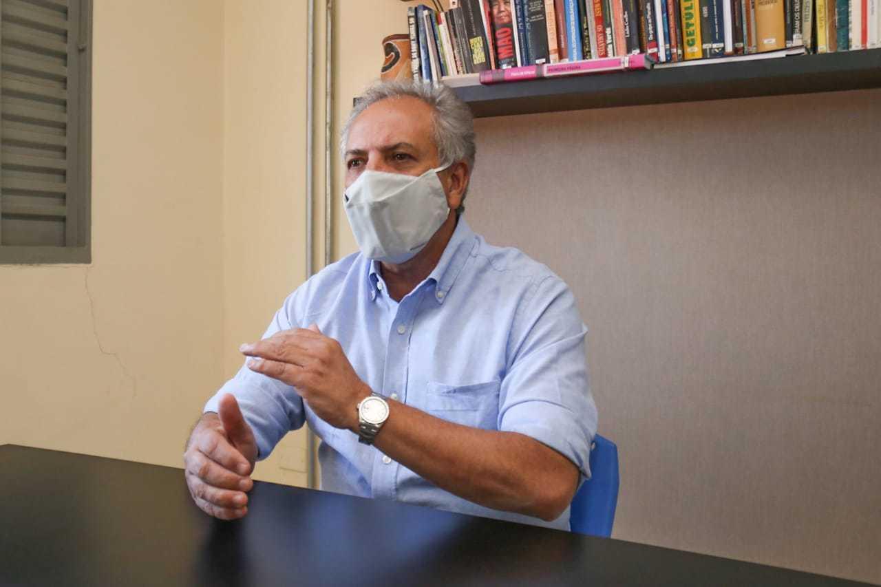 Diretor-presidente do Detran, Rudel Trindade culpa pandemia pela redução das ações educativas no trânsito em 2020. (Foto: Marcos Maluf)