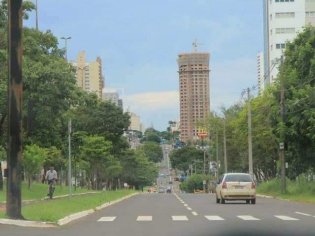Concentyração será nos altos da Avenida Afonso Pena. (Foto: Arquivo)