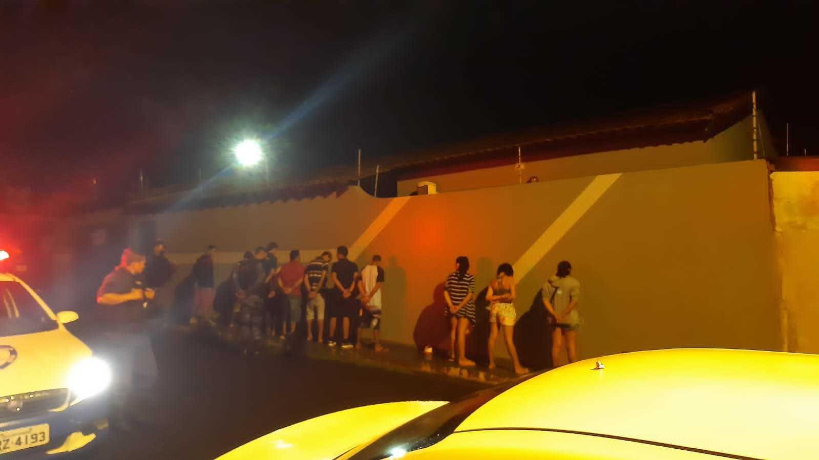 Festa no Cerejeiras foi encerrada pela Guarda Civil Metropolitana. (Foto: Divulgação/Guarda)