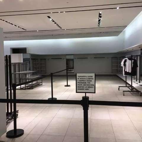 O que será do Bosque dos Ipês com fechamento da Zara no dia 31?