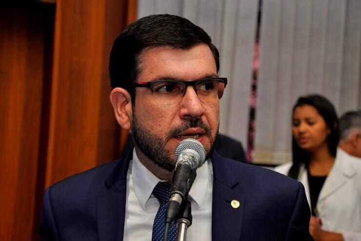 O deputado estadual Jamilson Name é réu em ação derivada da Operação Omertà (Foto: Divulgação/ALMS)