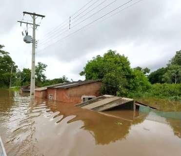 Inédito: cidade de MS registra 523 milímetros de chuva em menos de 1 mês