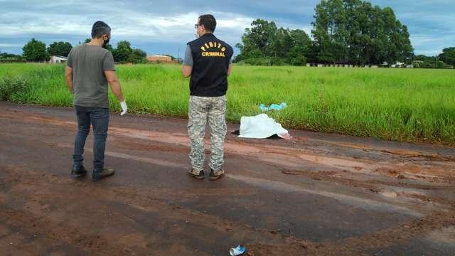 Encontrados degolados em estrada, homens tinham antecedentes criminais