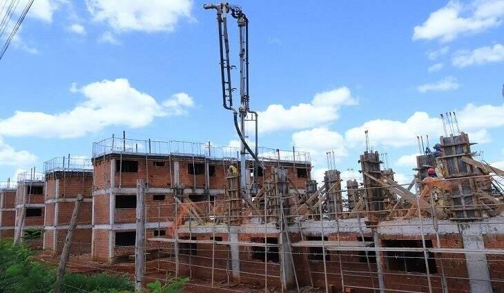 Construção civil é um dos setores com alta procura de profissionais na Capital. (Foto: Divulgação)
