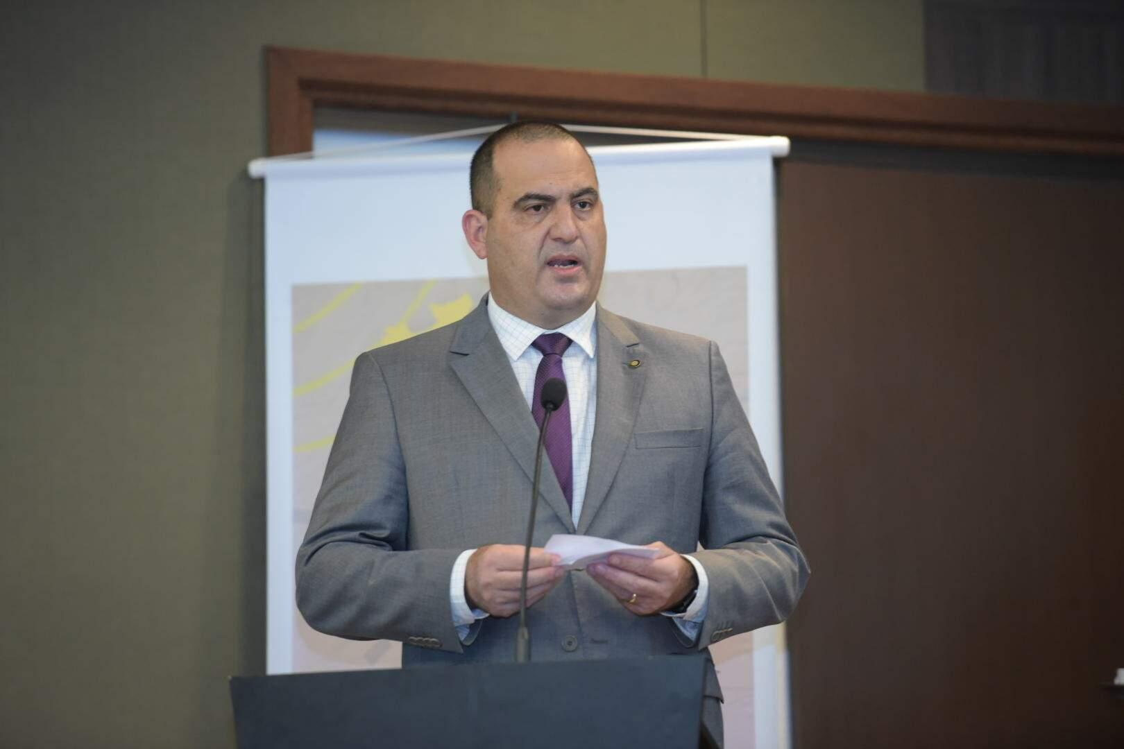 Secretário nacional de Segurança Pública, Carlos Renato Machado Paim, em evento no ano passado(Foto: Diego Gurgel/Secom)