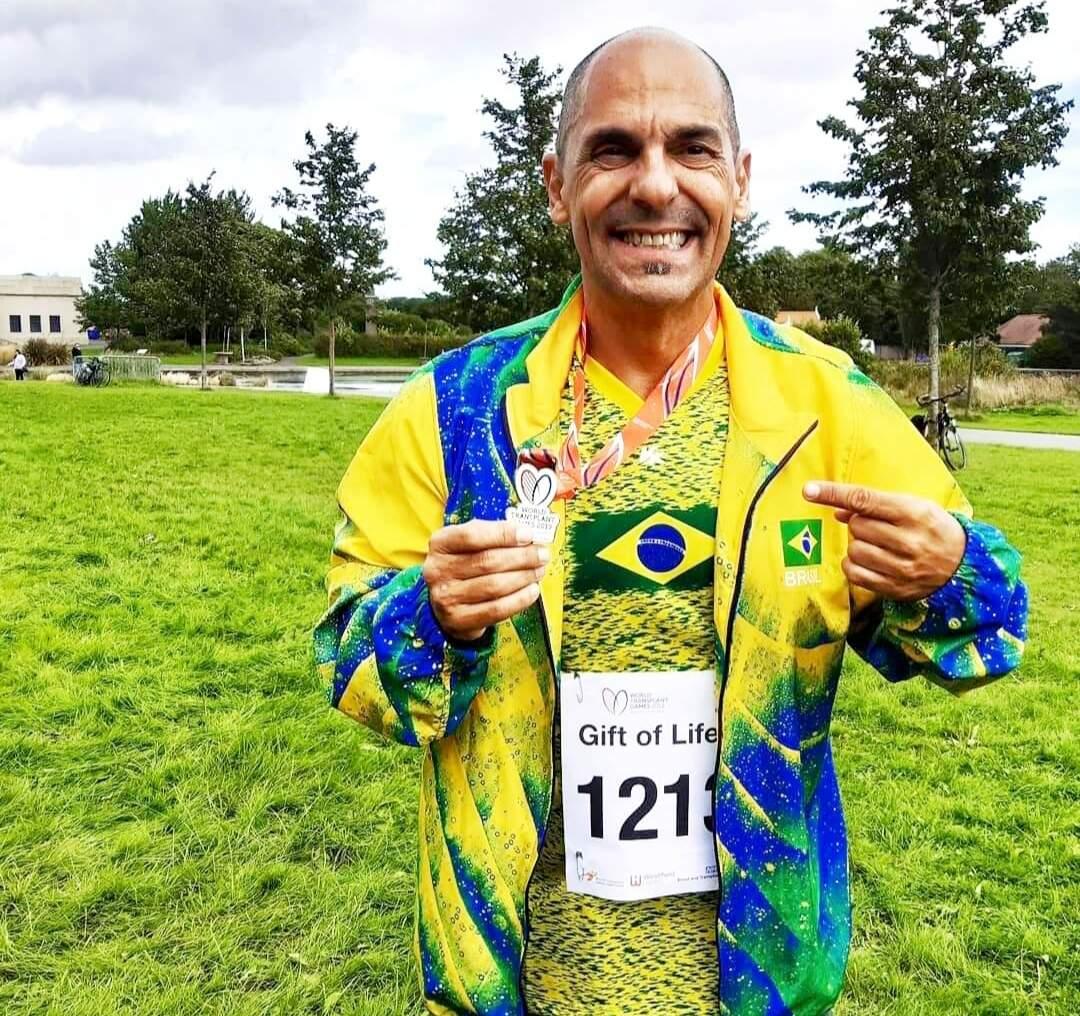 Em 2021, Professor Carlão participará também dos Jogos Americanos para Transplantados que acontece no EUA (Foto: Divulgação)