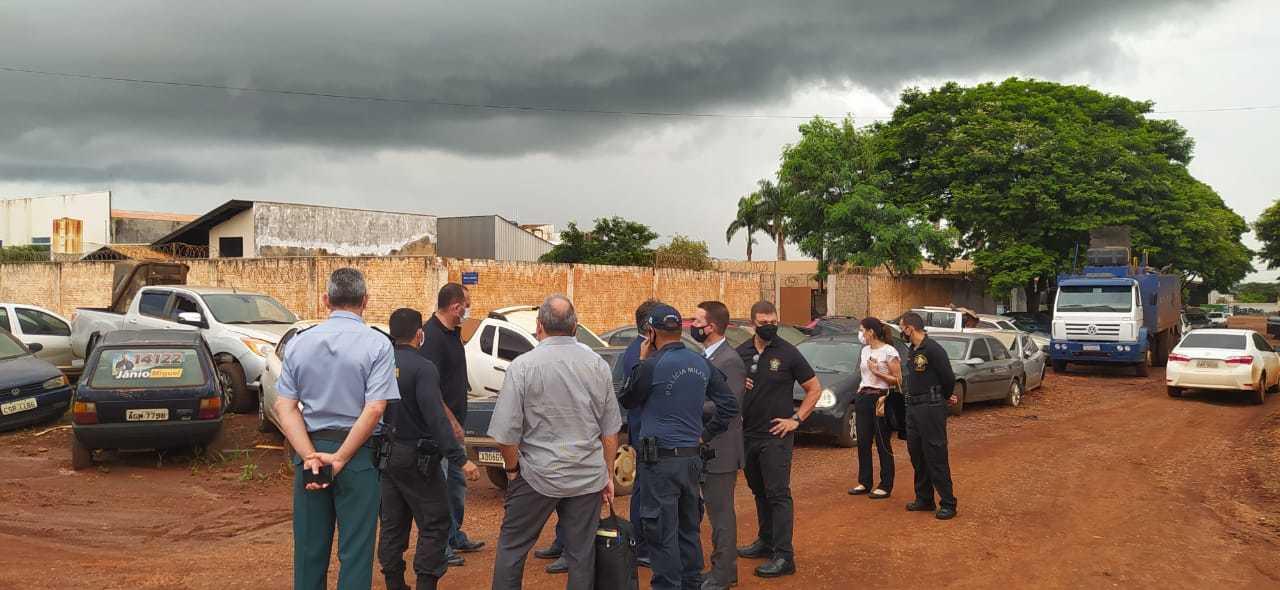 Visita de secretario nacional a região de fronteira (Foto: Divulgação)