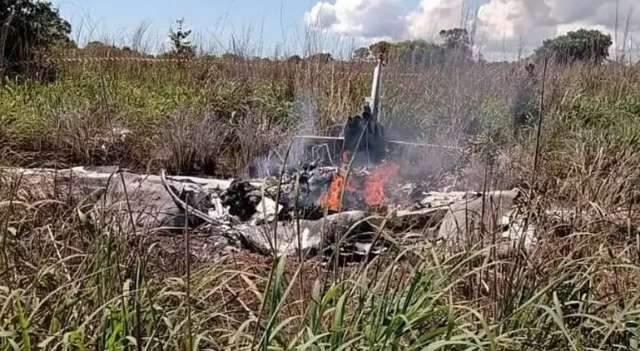 Aeronave com delegação do Palmas cai e seis morrem em Tocantins