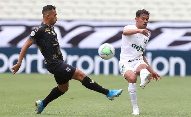 Ceará se impõe e vence o Palmeiras por 2 a 1 no Castelão