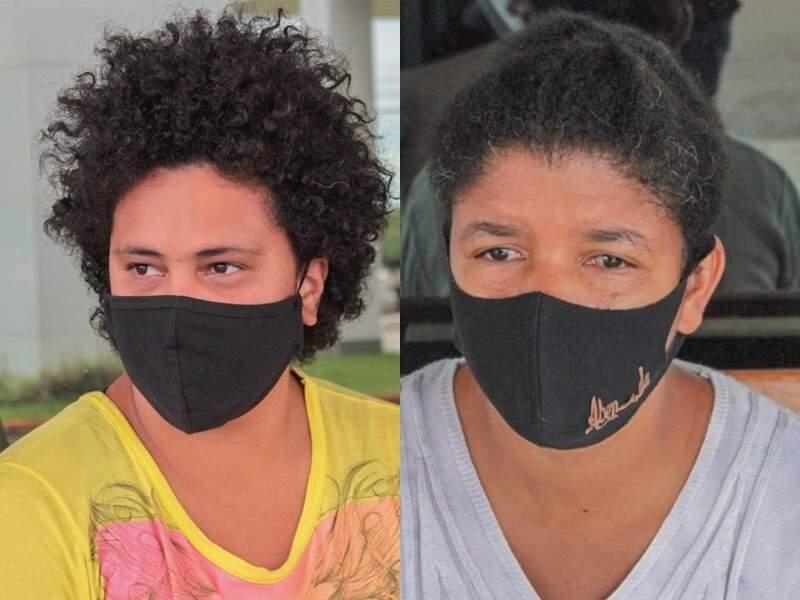 Nádia e Claudicéia, duas resistentes do Enem da pandemia. (Foto: Marcos Maluf)