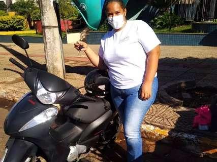 Mãe de 5 filhos, Carla comemorou compra da 1ª moto um mês antes da morte