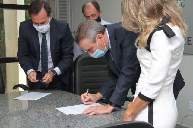 Primeira reunião de Paulo Corrêa como governador será sobre vacina