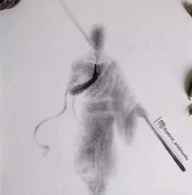 Sombras mostram beleza da forma humana pelas mãos de Gabriel