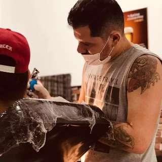 Mesmo a pressa como inimiga, Flávio levou 1º lugar após tattoo de 12 horas