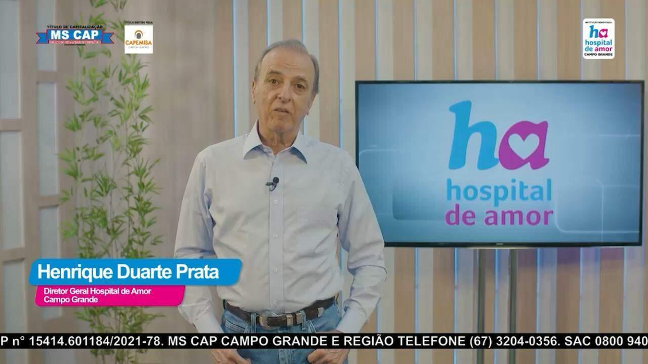 Henrique Duarte Prata, presidente da Fundação Pio XII. ( Foto : Divulgação)