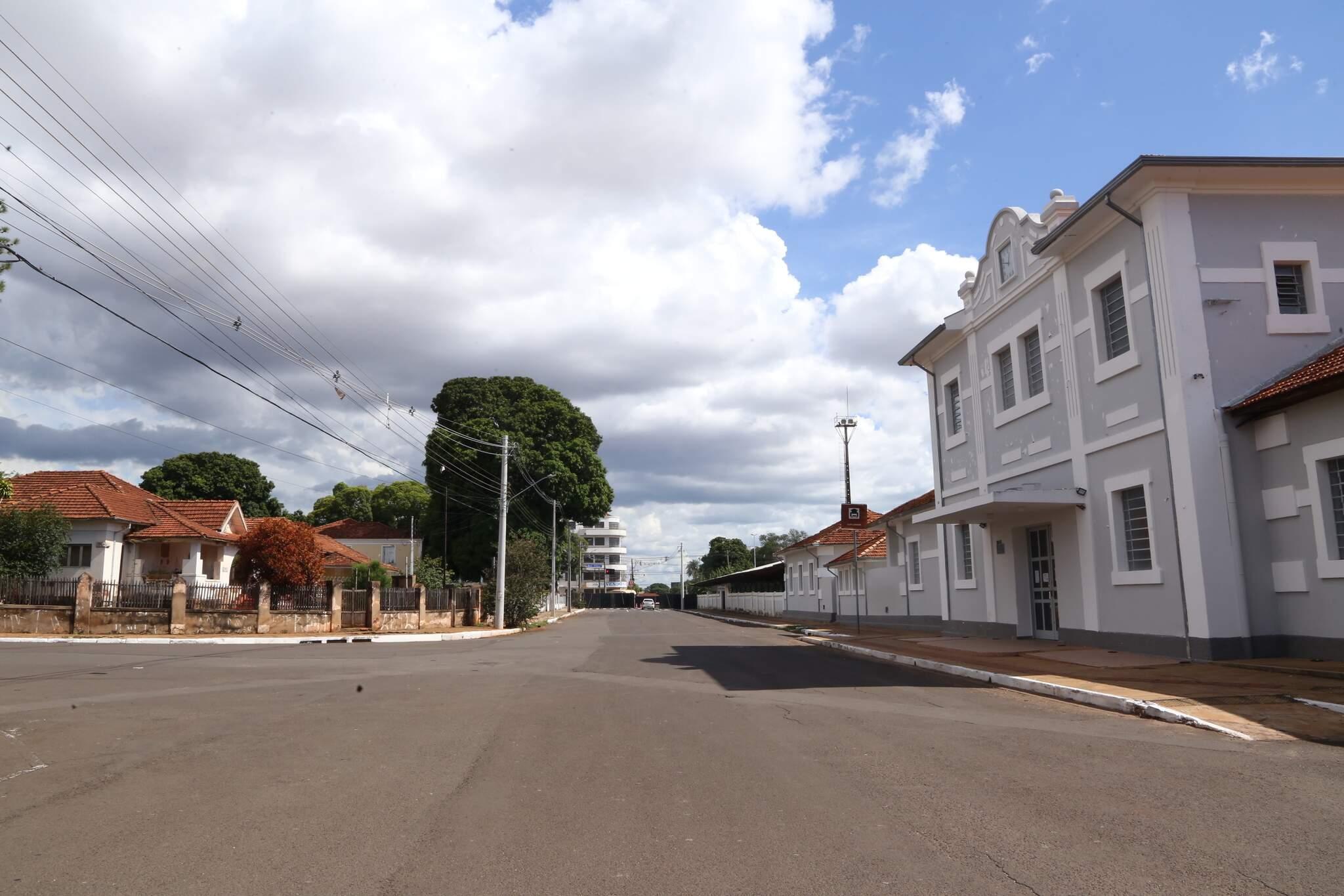 Região que costumava estar lotada durante Carnaval está sem movimentação. (Foto: Kísie Ainoã)