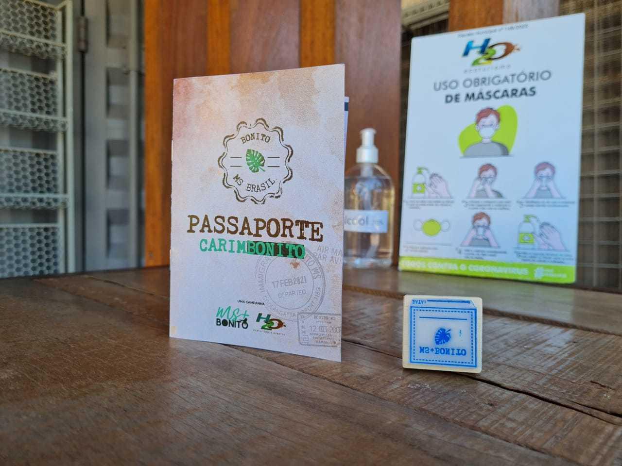 O Carimbonito tem distribuição gratuita, você só precisa comprovar que é do Mato Grosso do Sul (Foto: Reprodução)