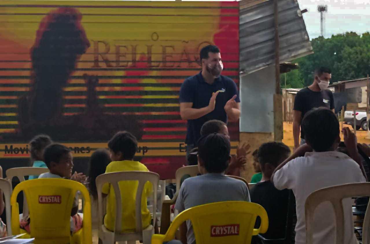 Primeira edição do programa foi realizada no Jardim Canguru. (Foto: Divulgação/Subea)
