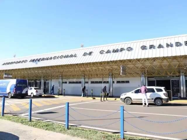 Atualmente, o aeroporto de Campo Grande é administrado pela Empresa Brasileira de Infraestrutura Aeroportuária (Infraero) (Foto: Arquivo)