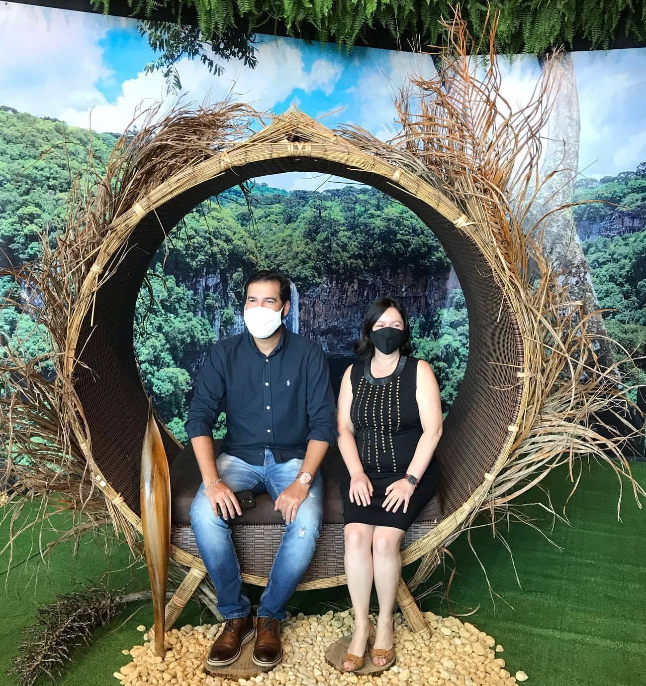 """Para a mostra, ninho gigante e """"instagramável"""" também foi montado (Foto: Divulgação/Bosque dos Ipês)"""