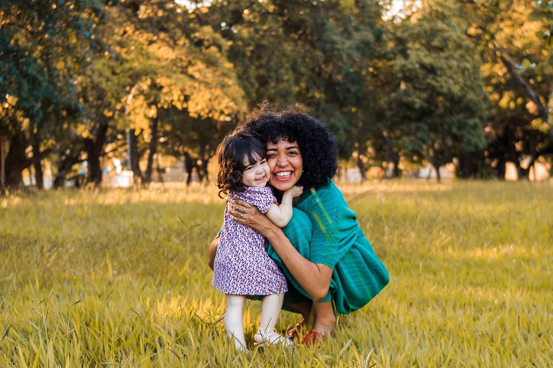 Hoje Vanessa pode dizer que é feliz (Foto: Click Nikki Fotografia Infantil)