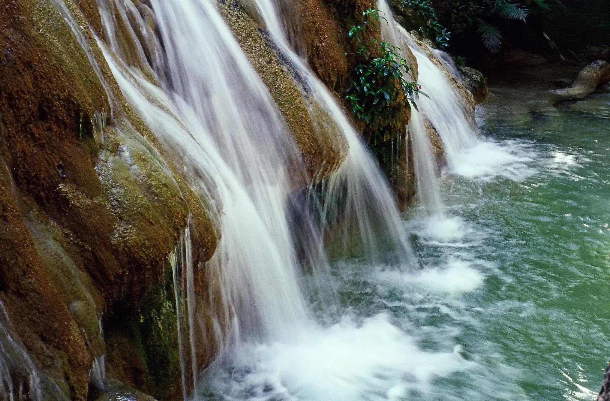 Belas cachoeiras estão entre os vários atrativos do Parque Nacional da Serra da Bodoquena (Foto: Divugação/ICMBio)