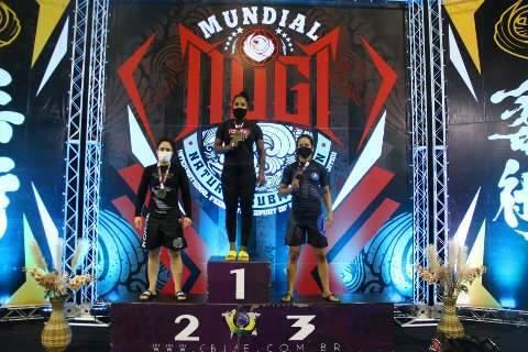 Atletas de Campo Grande conquistam 4 medalhas de ouro em mundial de Jiu Jitsu