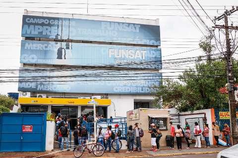 Fevereiro termina com 382 vagas de emprego em Campo Grande