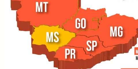 """MS está """"ilhado"""" entre estados que adotam medidas severas para conter a covid"""