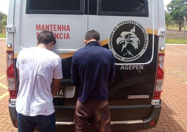 Presos fogem pulando muro de presídio, mas são recapturados por agentes