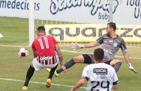 São Paulo bate a Inter de Limeira com goleada por 4 a 0 no Paulistão