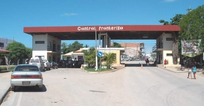 Fronteira entre Corumbá e Bolívia será aberta após a votação. (Foto: Diário Corumbaense)