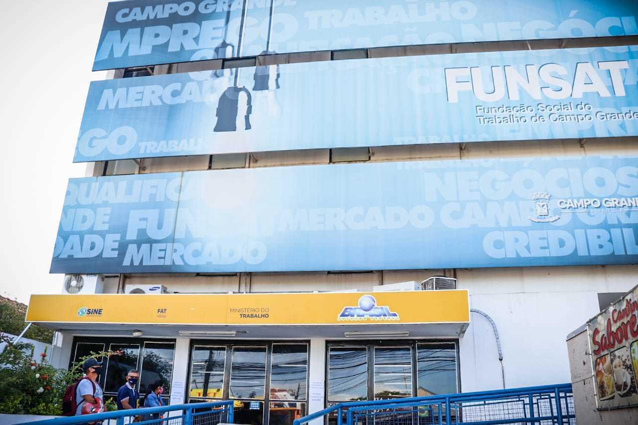 Fachada da Fundação Social do Trabalho em Campo Grande. (Foto: arquivo / Campo Grande News)