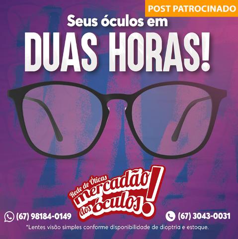 Março imperdível no Mercadão dos Óculos, com até 50% de desconto