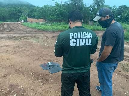 Com ajuda de drone, polícia prende suspeito de arquitetar morte de policial