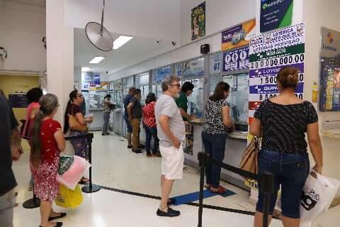 Mega-Sena acumula em R$ 27 milhões e 16 apostas da Capital faturam a quadra