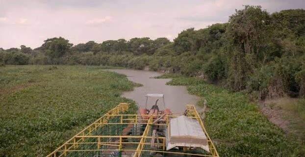 Entre as causas da degradação do Taquari estão a ocupação local por empreendimentos diversos.