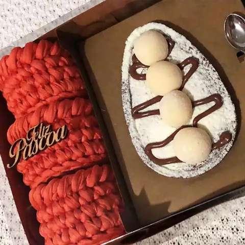 Amigas se unem para uma Páscoa que mistura crochê e chocolate