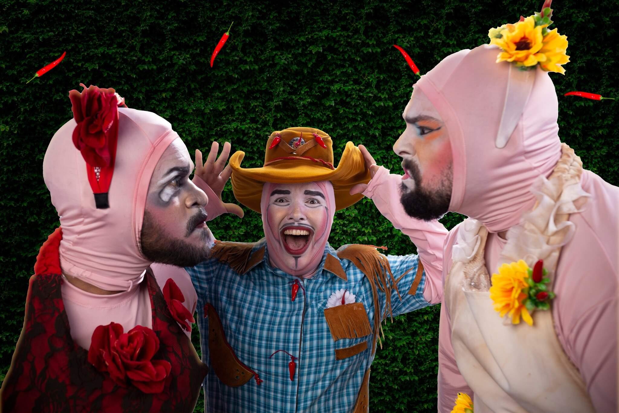 Remontagem da peça de 2002, grupo adaptou cenário atual do HIV/Aids em uma nova versão (Foto: Divulgação)