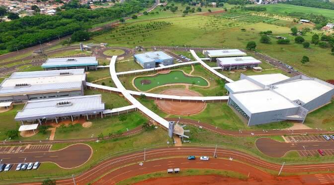 Campus da Uems, em Campo Grande. (Foto: Chico Ribeiro)