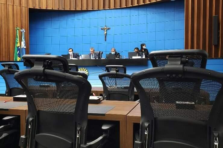 Deputados aprovaram todos os projetos da ordem do dia, com exceção ao texto do Poder Executivo que cria Fundo de Apoio à Pesquisa que será analisado (Foto Divulgação)