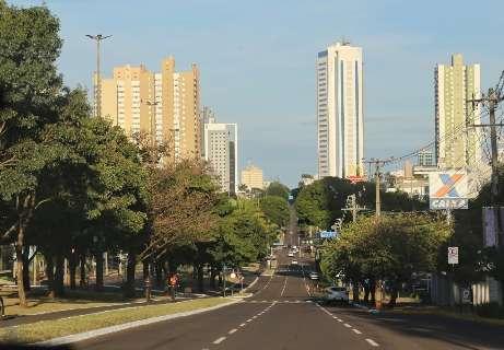 Domingo de sol é prenúncio de semana com altas temperaturas em Campo Grande