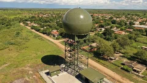 Força Aérea inicia operação de radar para controle e vigilância de fronteira